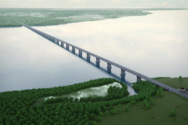 Протяженность моста составит более 3 км