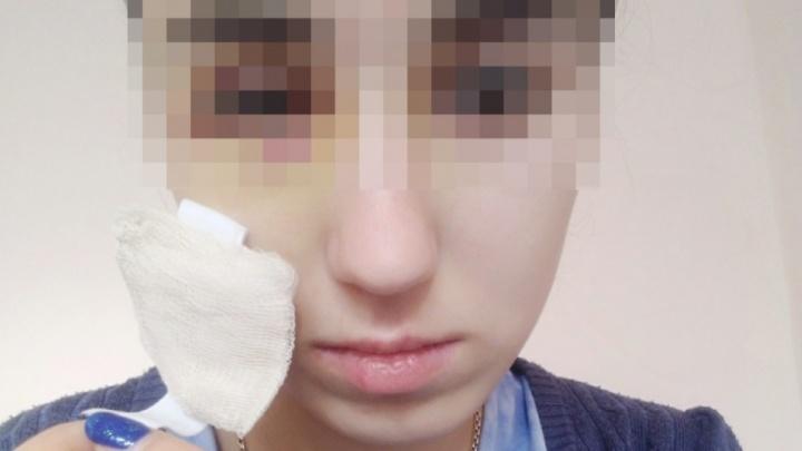 Девушке, которой прилетела в лицо петарда, удалят глаз