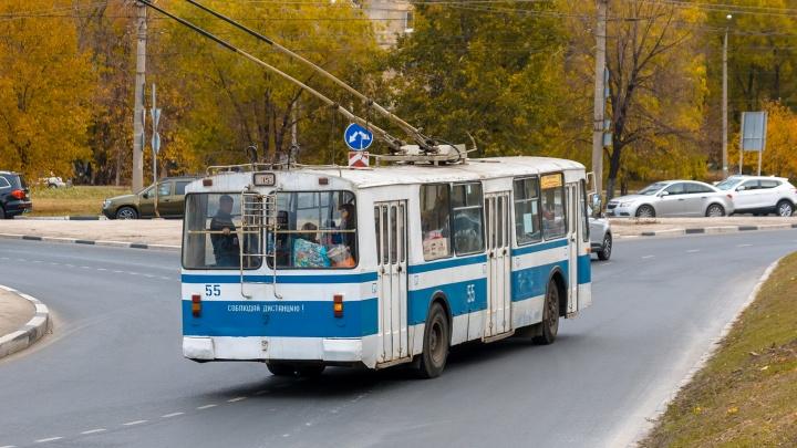 В Самаре троллейбусную линию дотянут до Фрунзенского моста