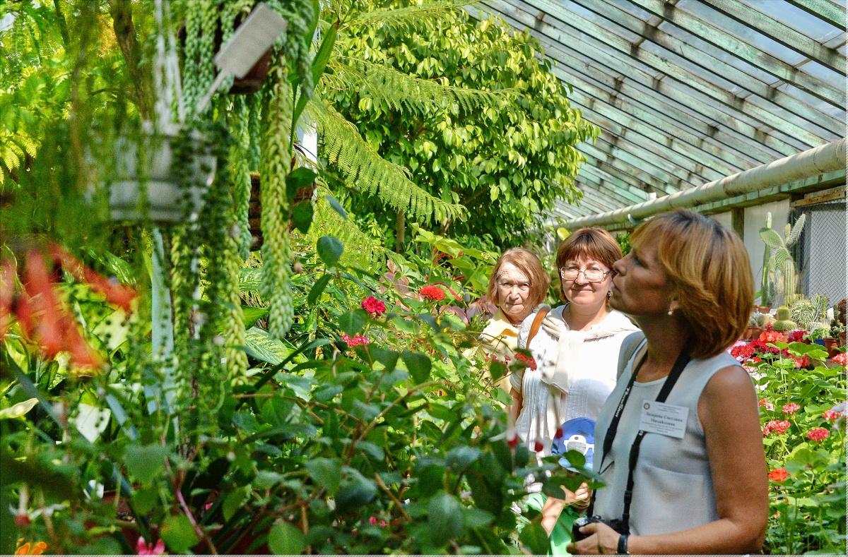 Сотрудники Дендропарка готовы провести экскурсии по своим оранжереям