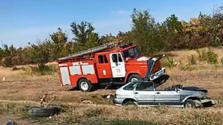 «Есть погибшие»: под Волгоградом в массовой аварии с фурой разбились семь автомобилей