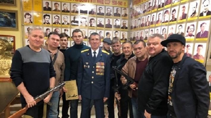 Группа «Лесоповал» посетила музей ГУФСИН в Соликамске