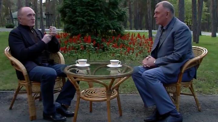 Есть ум и опыт: предвыборное интервью Дубровского, где нет ни слова о мусорном аде в Челябинске