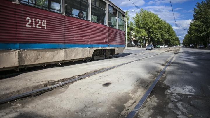 Два трамвая на правом берегу не будут ходить несколько дней