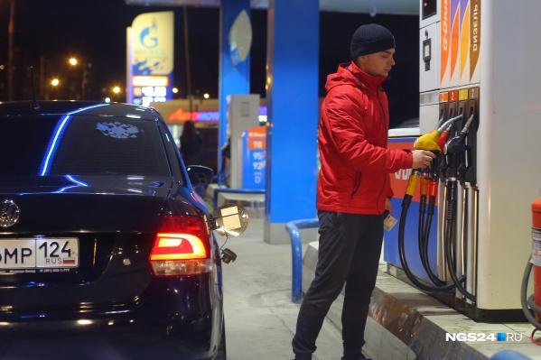 Первое подорожание произошло на АЗС «Газпромнефть»