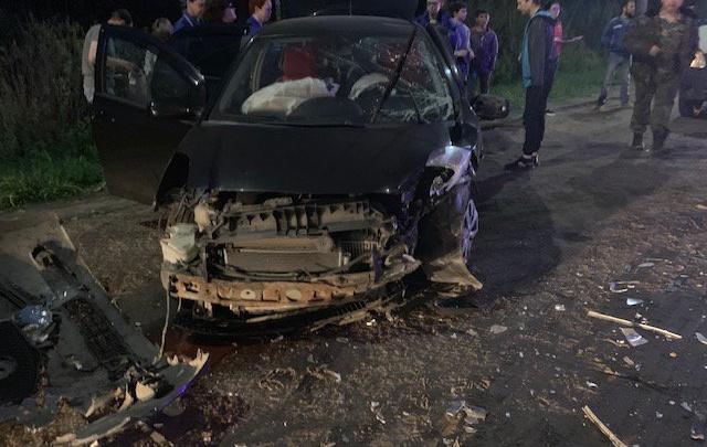 Четверо пострадавших: на окружной дороге разбились «Тойота» и «Хонда»