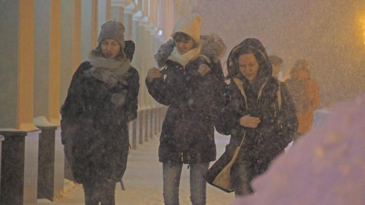 Мэрия Уфы попросила горожан перетерпеть снегопад