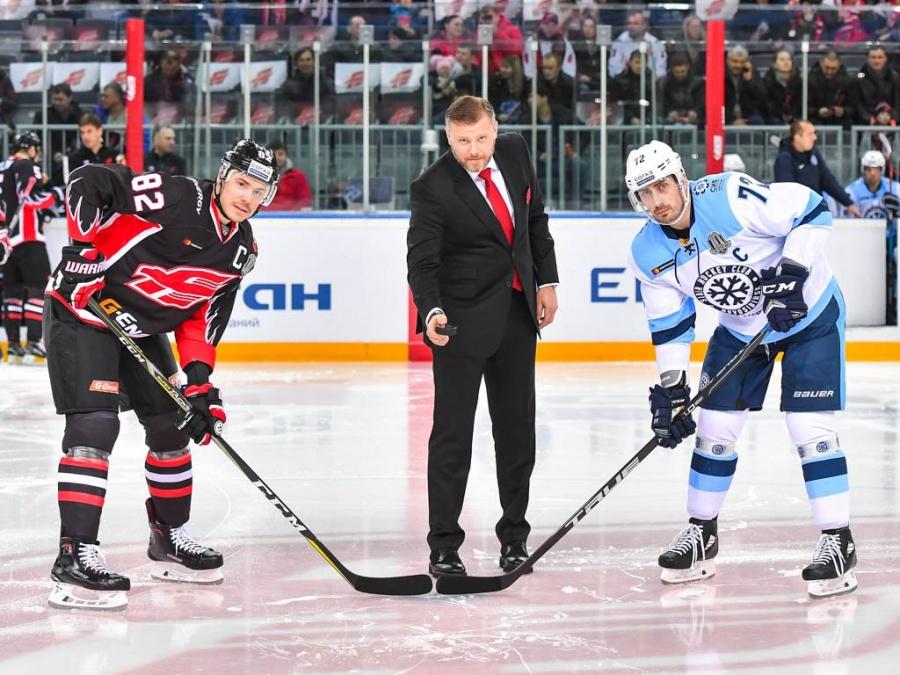 КХЛ: «Авангард» обыграл «Сибирь» иодержал 3-ю победу подряд