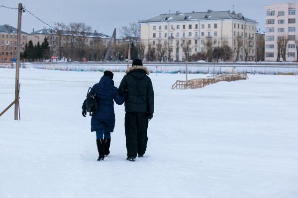 С 23 ноября в Архангельске начал действовать запрет на выход на лёд