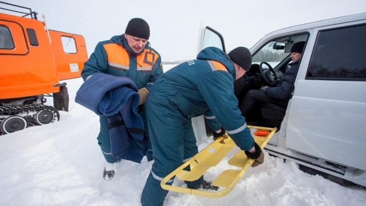 Спасателей МЧС перевели в режим повышенной готовности из-за надвигающихся морозов