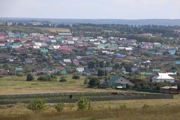 Преступник прятался в саду на территории Калининского района Уфы<br>