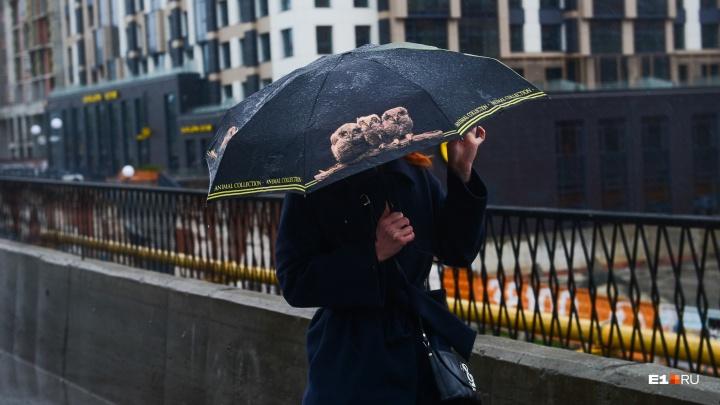 МЧС предупреждает уральцев о ливнях