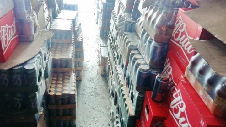 1500 литров алкоголя нашли полицейские в фуре, ехавшей по трассе Курган — Звериноголовское