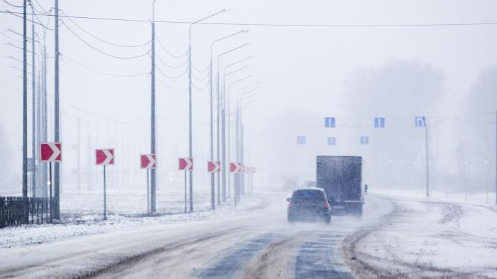 Во время метели на дороги Ярославской области выведут дополнительную технику