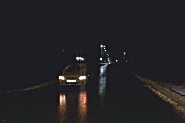 Авария с наездом на юных пешеходов произошла в темное время суток. Водитель иномарки мог не заметить детей на дороге