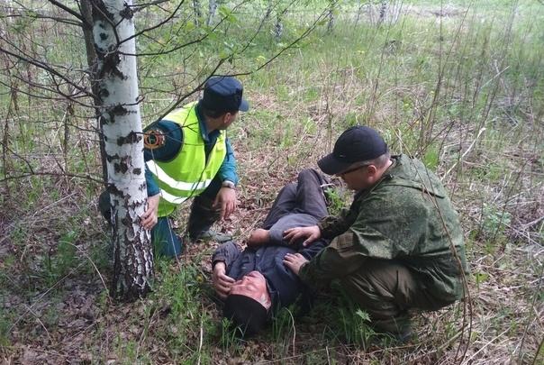 Не помнит, где был два дня: в Артинском районе нашли заблудившегося в лесу дедушку