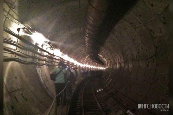 Так выглядит подземка на Высотной