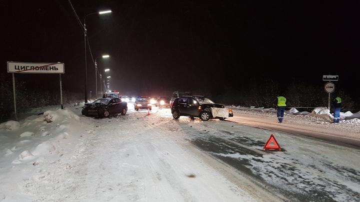 «Видела, что водитель детской скорой нервничал»: две иномарки столкнулись возле Цигломени