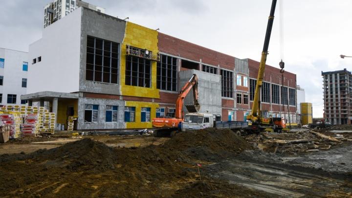 Мэрия ищет, кто построит еще одну школу в Академическом за 1,1 миллиарда рублей