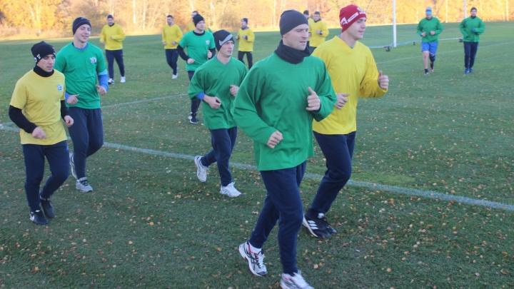 Шведская осень жёлто-зелёных: «Водник» начал тренировки в Эдсбюне