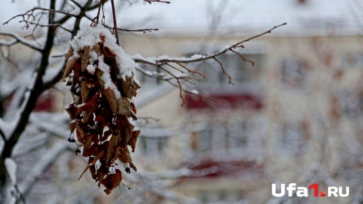 В Башкирии похолодает до -11 градусов