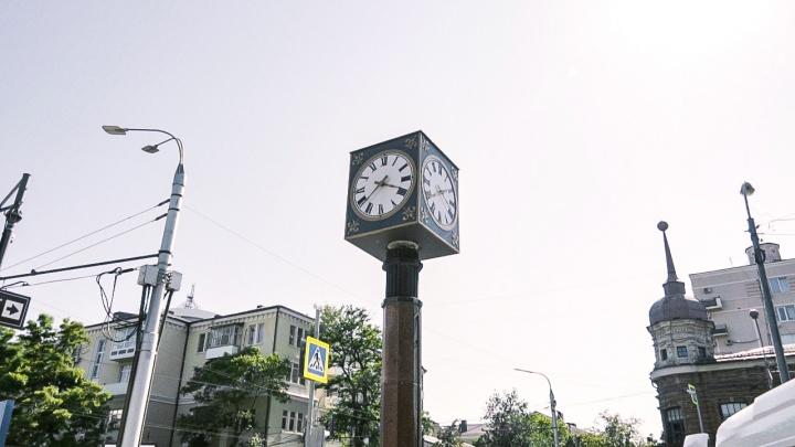 Старинные ростовские часы могут вернуть в Покровский сквер спустя три месяца