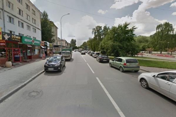 ДТП произошло около восьмого дома по улице Тульской