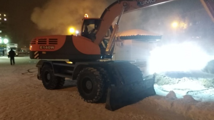 В Каменске-Уральском из-за аварии в мороз без отопления остались почти 2 тысячи человек