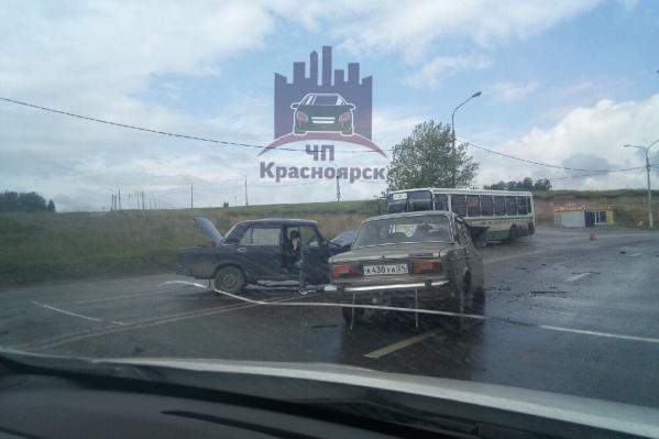 Авария произошла на проспекте 60 лет образования СССР