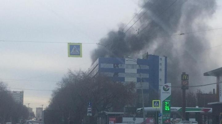 На заводе «Вектор», где произошел пожар, заявили, что это были учения