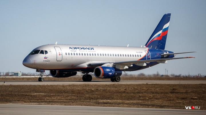 Компания «Аэрофлот» не выпустила Superjet из Волгограда до московского Шереметьево