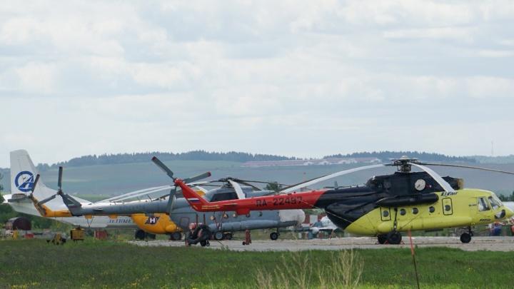 Власти Прикамья передумали арендовать вертолет за два миллиона рублей