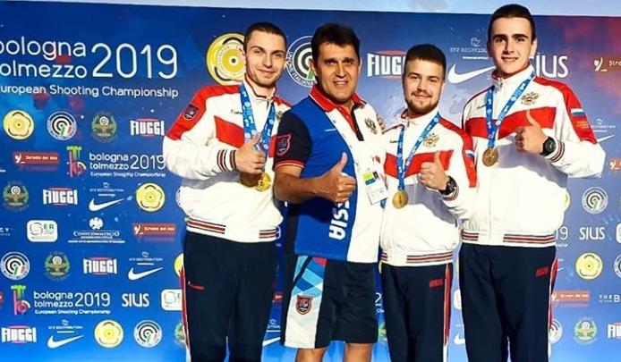 Северодвинский стрелок выиграл чемпионат Европы в Италии