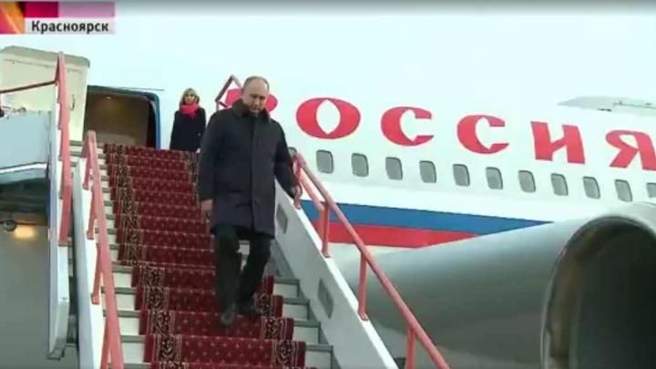 Президент Путин с проверкой приехал в Красноярск: рассказываем, как проходил визит