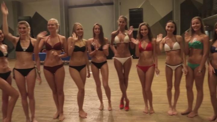 """Несмотря на запрет, организаторы """"Мисс Екатеринбург"""" опубликовали видео с участницами в купальниках"""