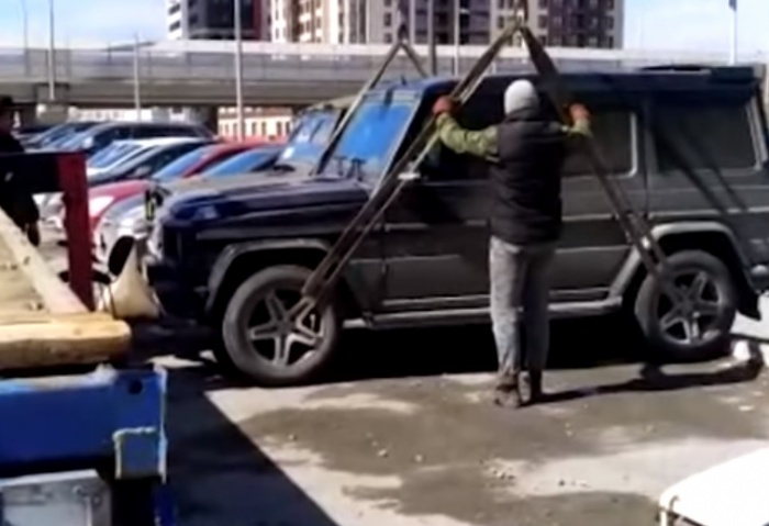 Машину увезут на штрафстоянку, оценят и реализуют