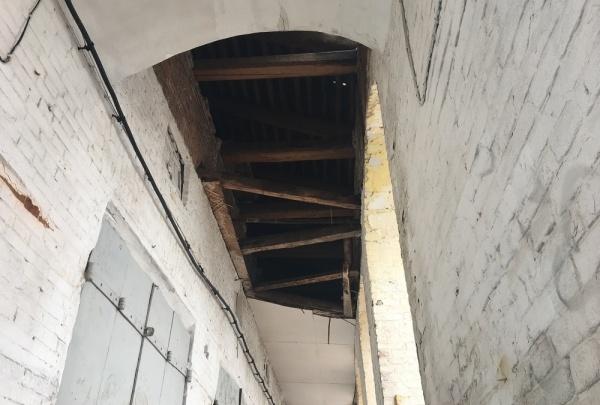 Министерство имущества начало проверку из-за обрушения потолка в Гостином дворе Кунгура