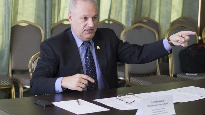 Главный дорожник Челябинска Владимир Алейников подал в отставку. Давайте поставим ему оценку