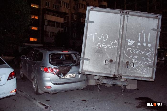 Очевидцы написали на «газели» приметы машины виновника ДТП