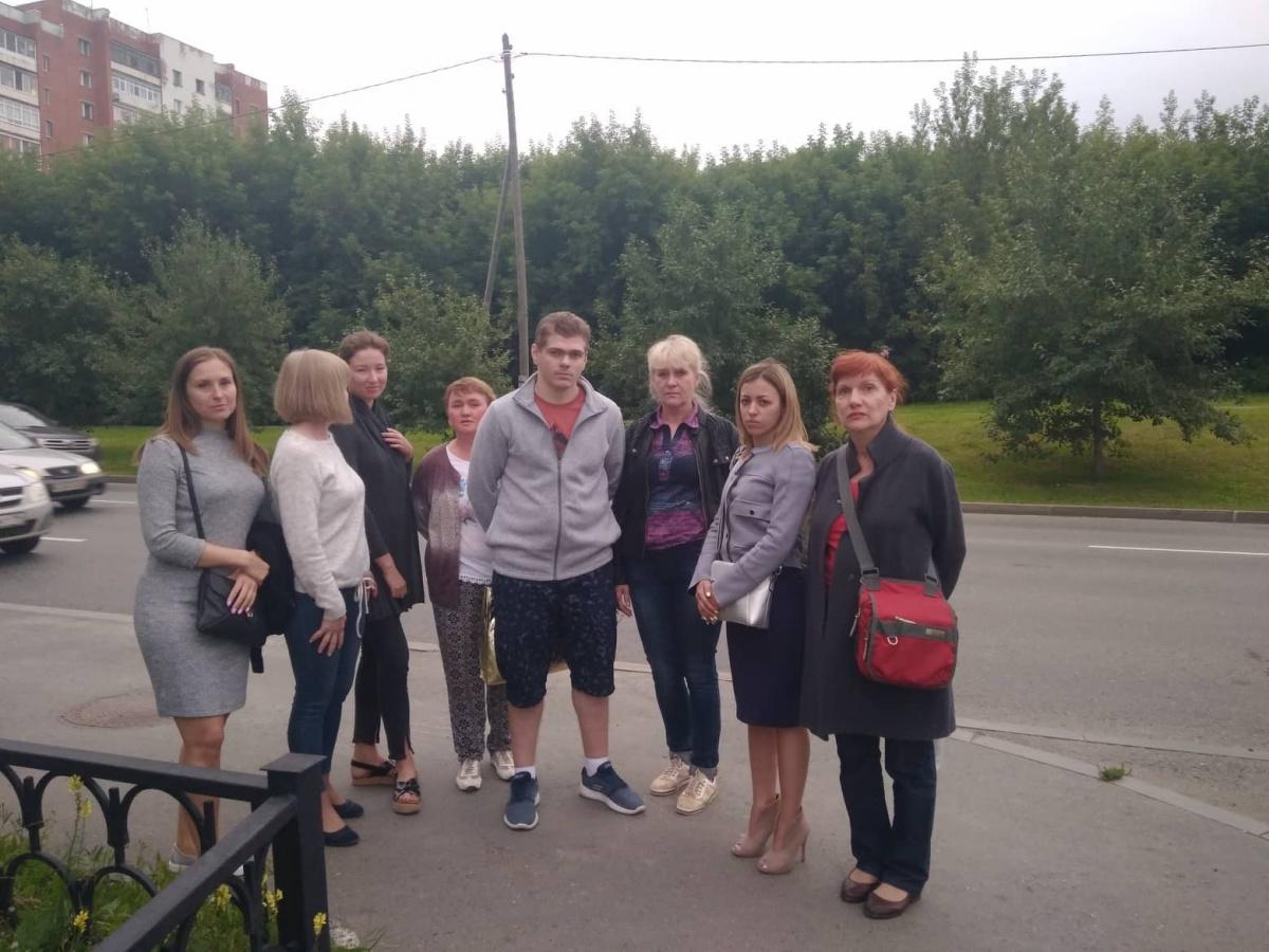 Группа поддержки Алексея