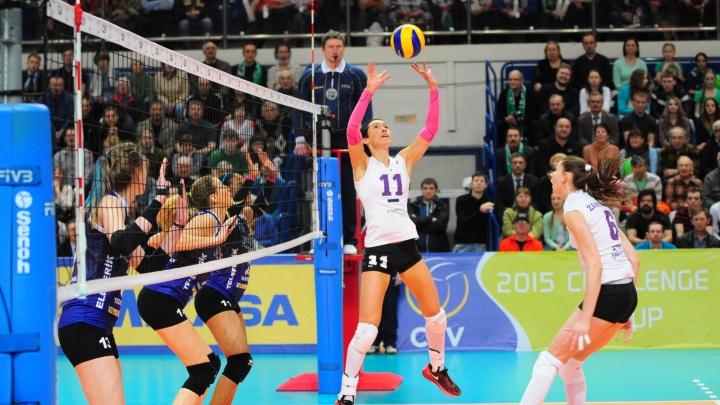 Екатеринбург поборется за право принять чемпионат мира по волейболу