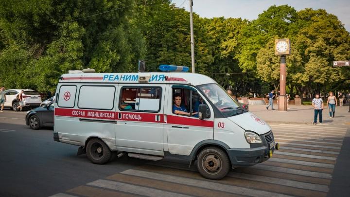 Под Новочеркасском разбилась маршрутка с пассажирами