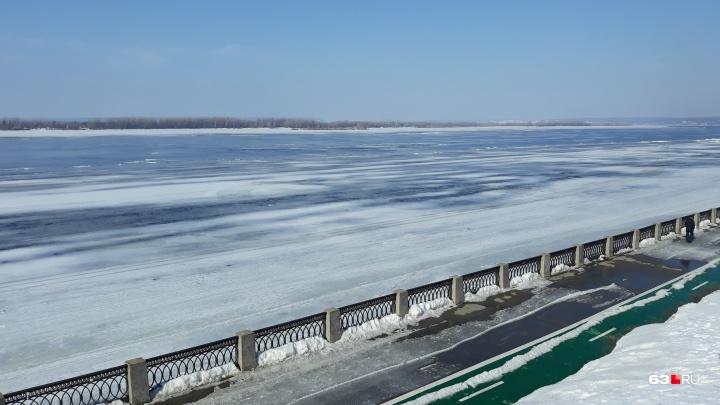 Синоптики: «Морозно-теплая весна спасет Самарскую область от сильного половодья»