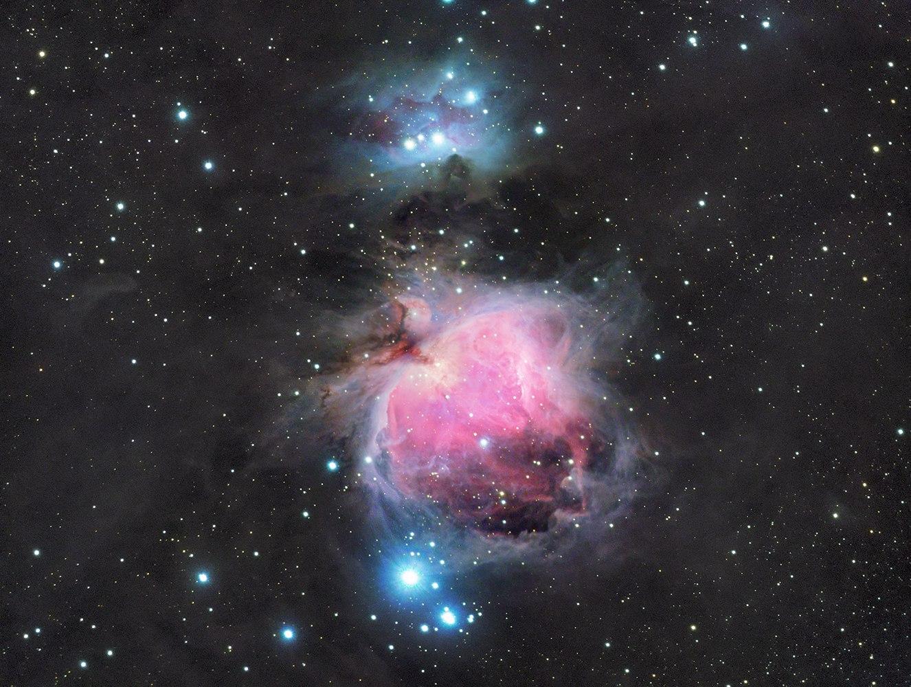 Красота неземная: 11 потрясающих фото созвездий, снятых новосибирцем через телескоп