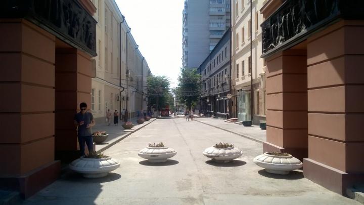 В Ростове сделают пешеходную зону в переулке Газетном