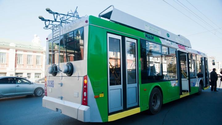 Власти запускают ещё один троллейбус до Речного вокзала