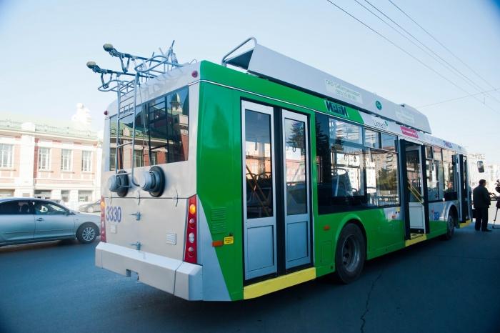 По новому маршруту троллейбус  № 36  начнёт ездить уже с завтрашнего дня