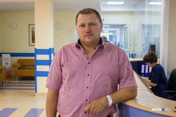 Водитель автобуса пережил первую операцию больше 30 лет назад, а сейчас вернулся в клинику Мешалкина из-за аритмии