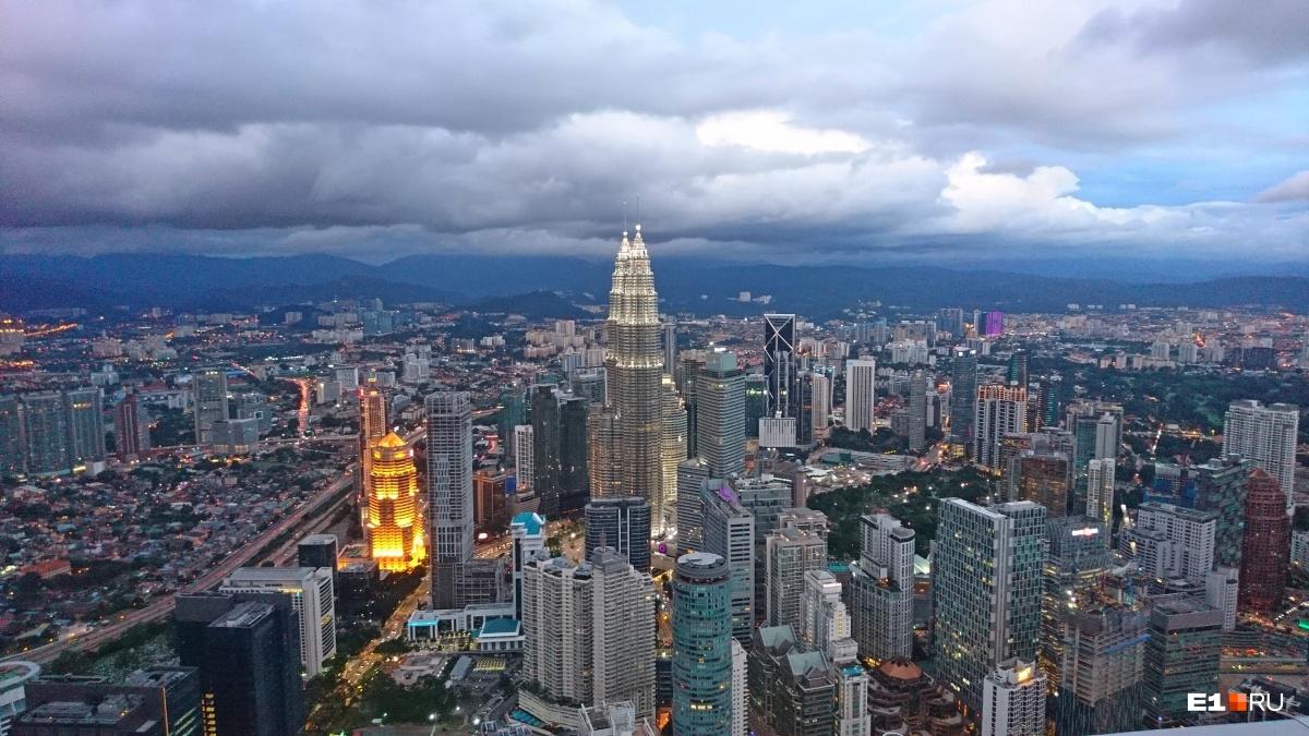 Куала-Лумпур (Малайзия) — настоящий мегаполис. Но и здесь можно жить по дешевке
