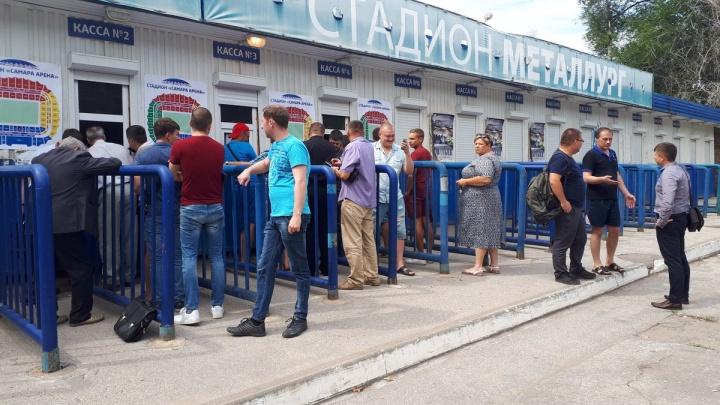 Выстроилась очередь: в Самаре начали продавать абонементы на матчи «Крыльев Советов»
